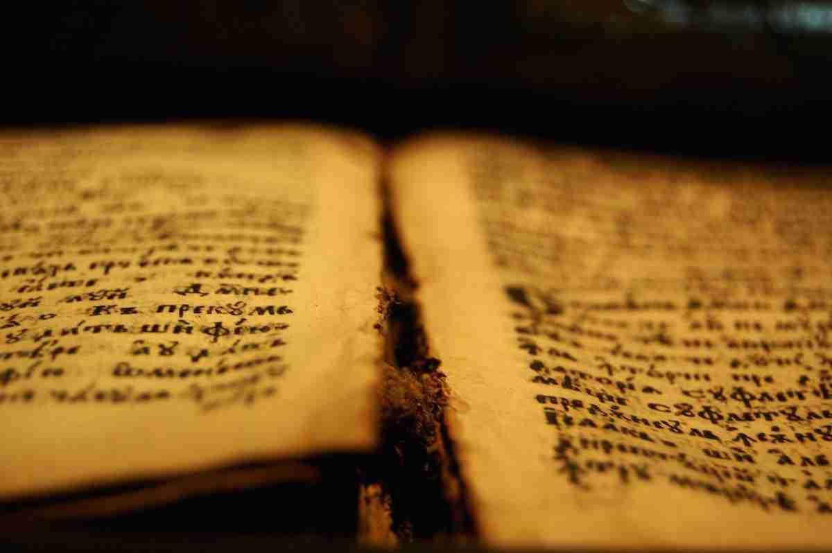 bijbel manuscript