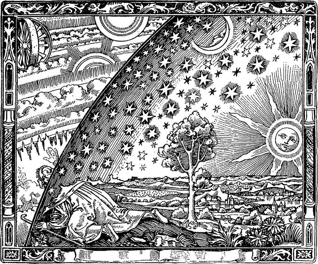 houtsnede_Flammarion.wikipedia