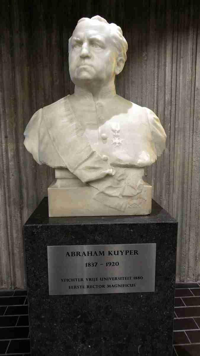Abraham_Kuyper_VU_buste