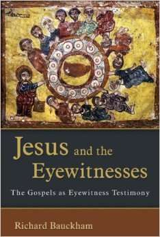 Bauckham_Jesus_eyewitnesses.amazon