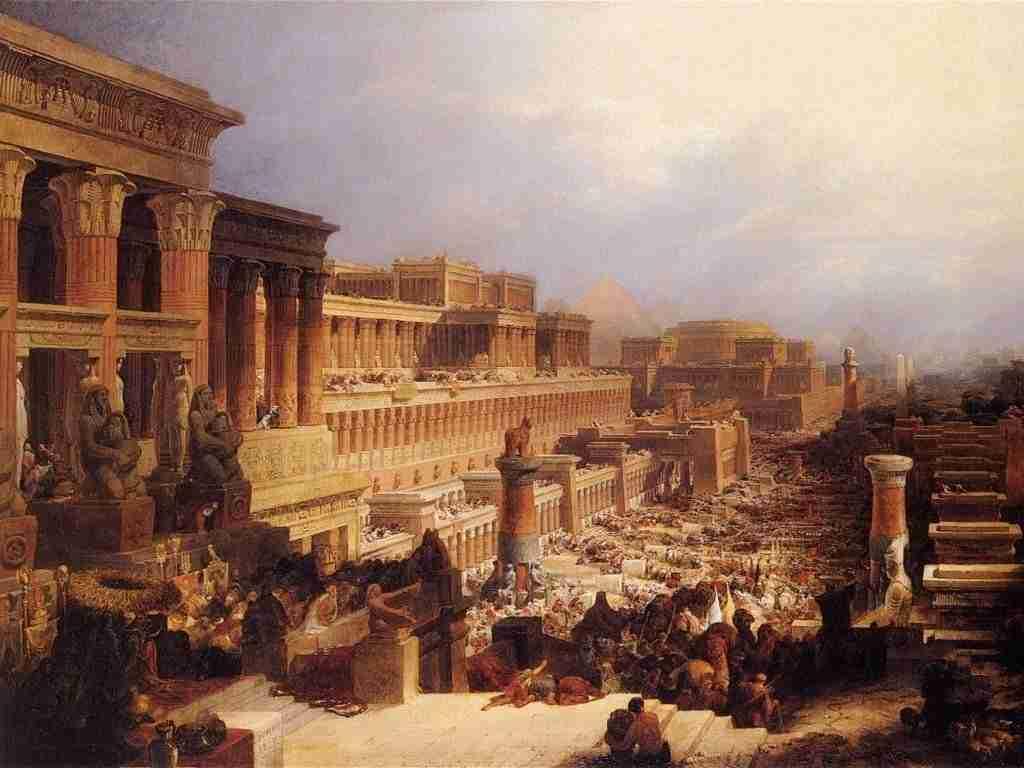 David_Roberts-IsraelitesLeavingEgypt_1828.wikipedia