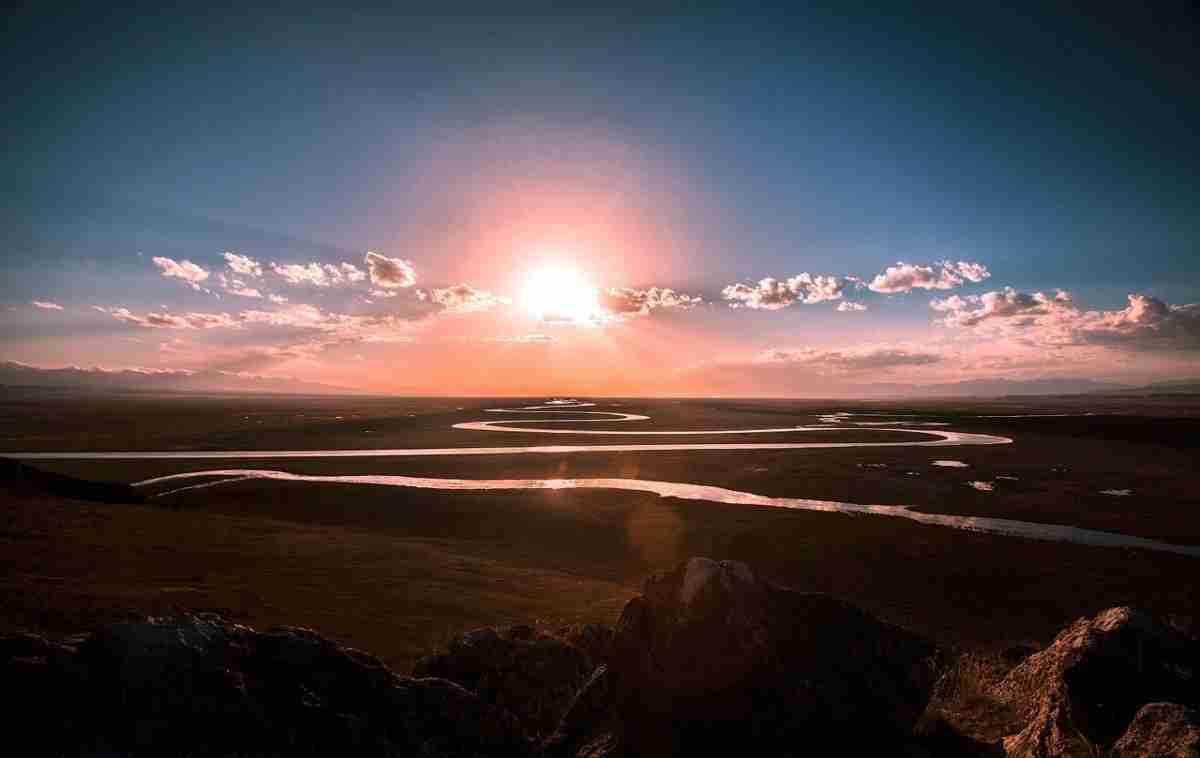 prairie_rivier_zonsondergang
