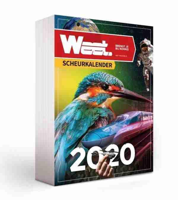 Weet Scheurkalender 2020 - Actie 2019 - Ondersteun Logos Instituut