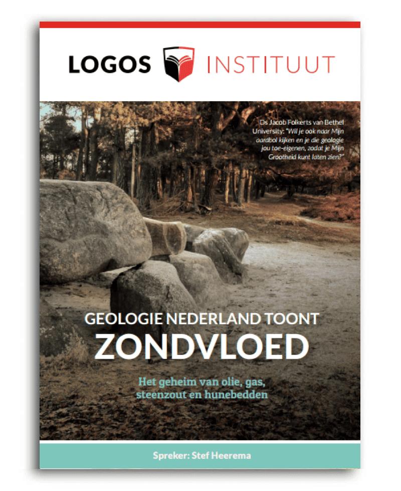 dvd Geologie Nederland toont Zondvloed - Stef Heerema - Actie 2019 - Ondersteun Logos Instituut
