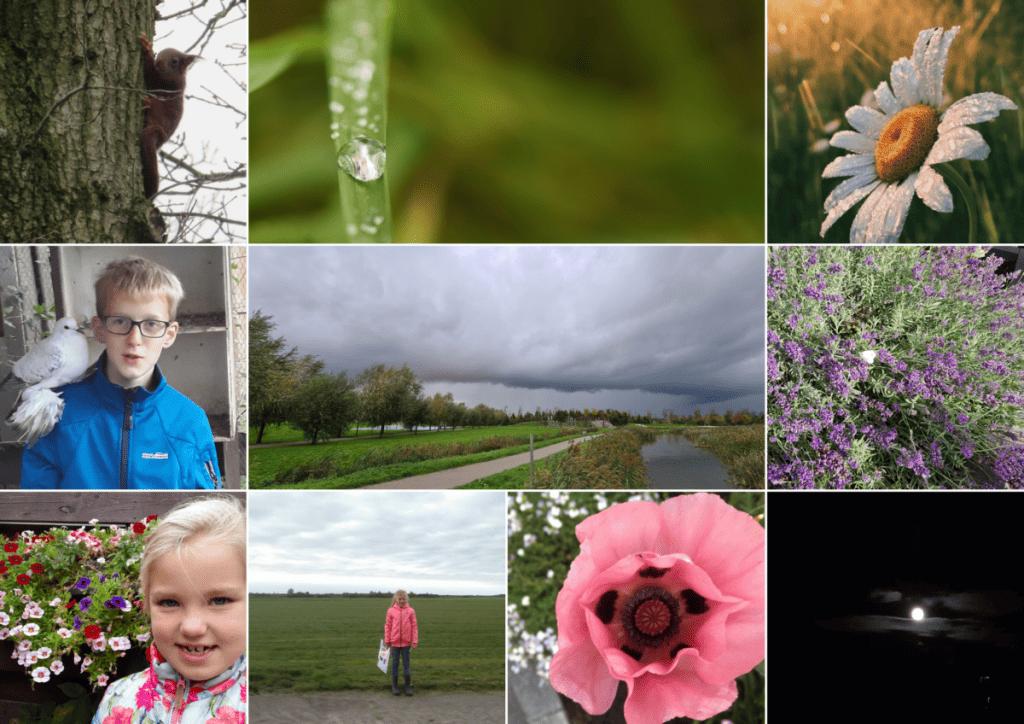 Collage fotowedstrijd Bijbelvast