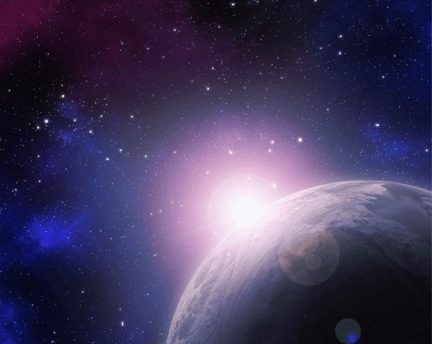 Kinderpagina met allemaal proefjes over het heelal