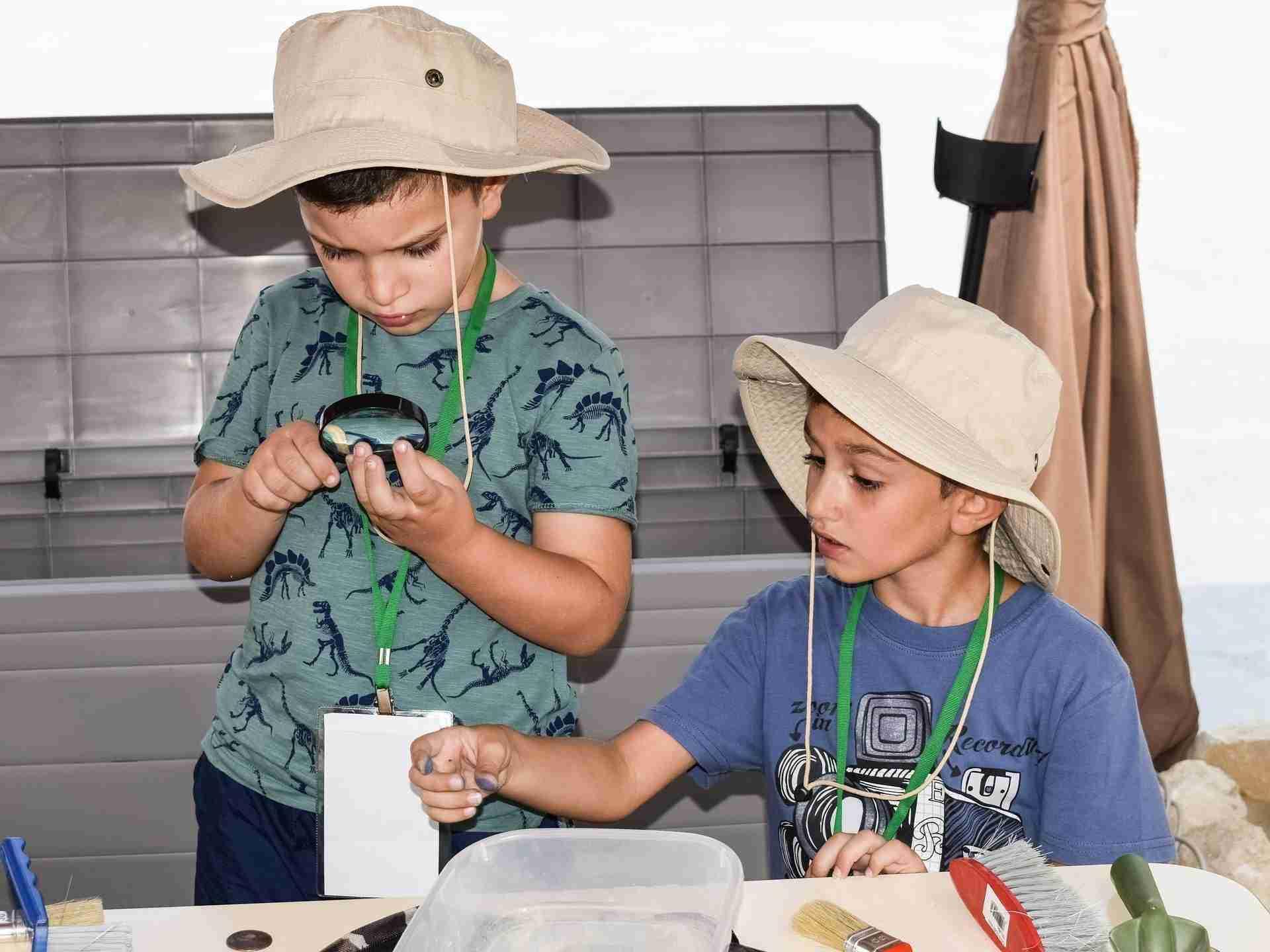 Kleine archeologen