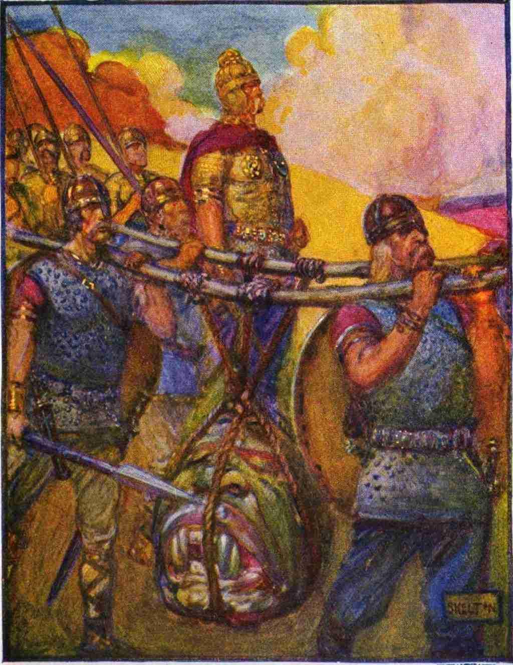 Beowulf en Grendel