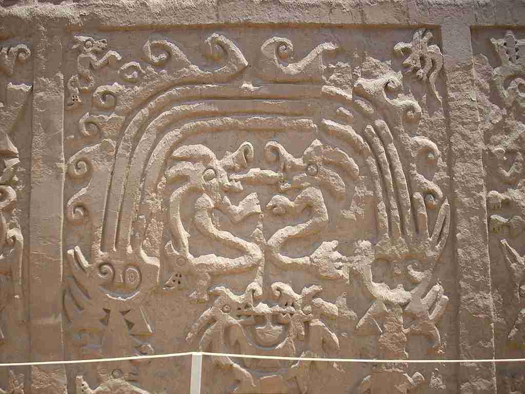 Draken op Huaca del Dragón, Perú