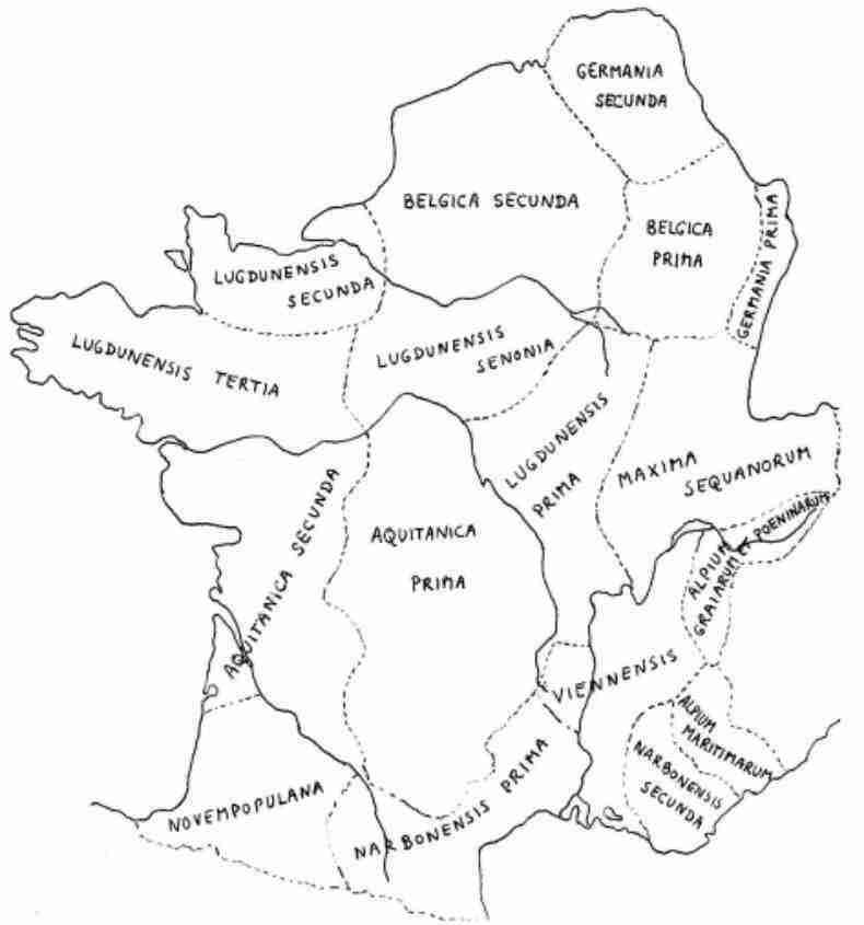 Frankrijk in het Romeinse Rijk